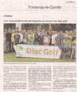 OF disc golf 2014